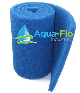 "Aqua-Flo Rigid Pond Filter Media, 12.5"" x 72"" (6 Feet) 100% Polyester 12.5"" x 72"""
