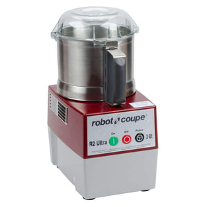 Robot Coupe R2N Ultra Continuous Feed Combination Food Processor with 3-Quart Stainless Steel Bowl, 1-HP, 120-Volts Silver Ez Store USA