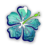 Vinyl Junkie Graphics Hibiscus Flower Sticker/Decal