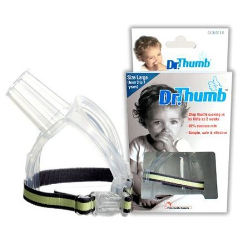 Dr Thumb for Thumb Sucking Prevention and Treatment, Stop Thumb Sucking Today (Large (3-7 years)) Large