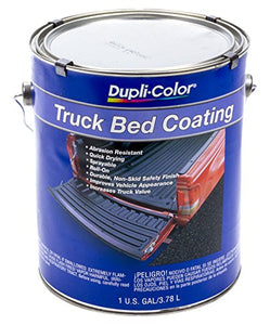 Dupli-Color Truck Bed Coating Black 128 Fl. Oz. Gallon Solvent-based Ez Store USA