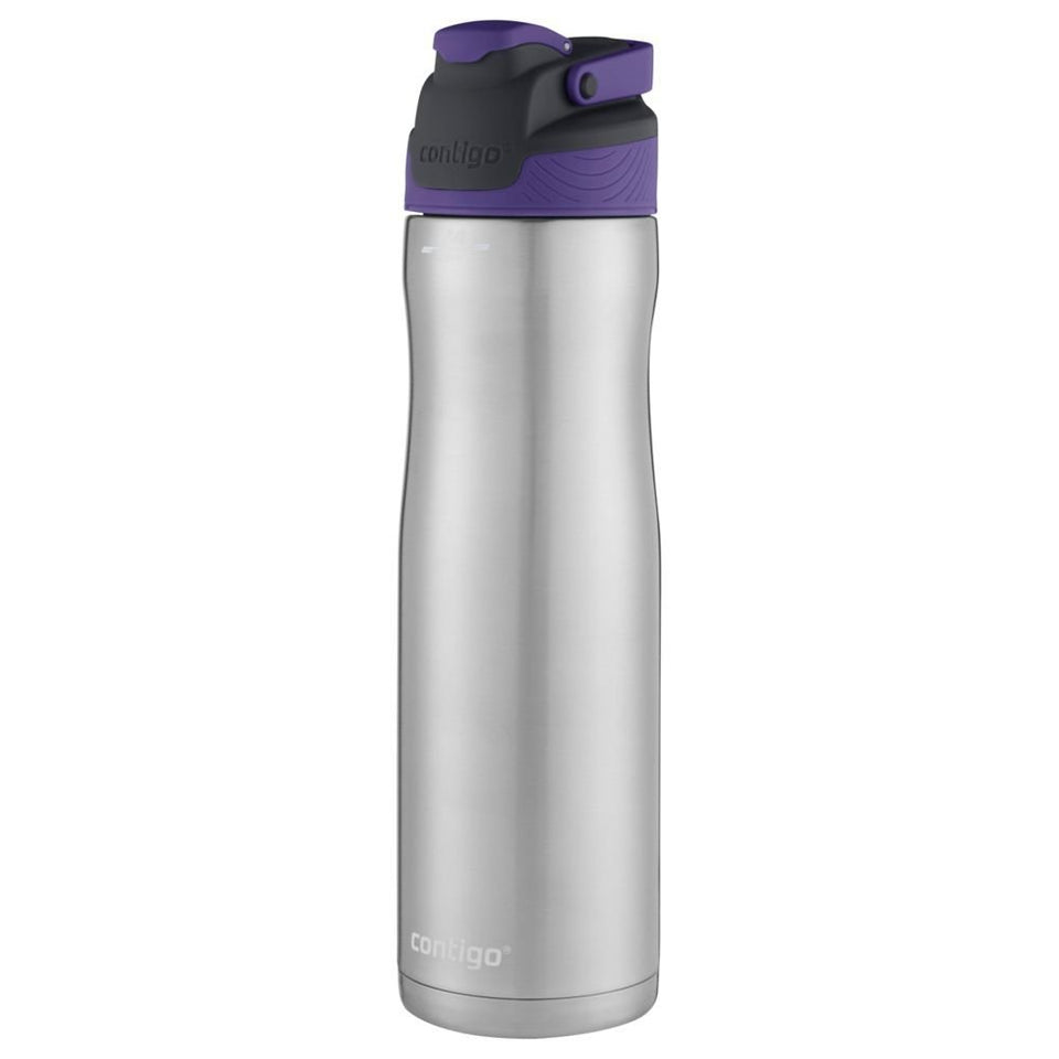 Contigo AUTOSEAL Chill Stainless Steel Water Bottle, 24 oz, SS Grapevine