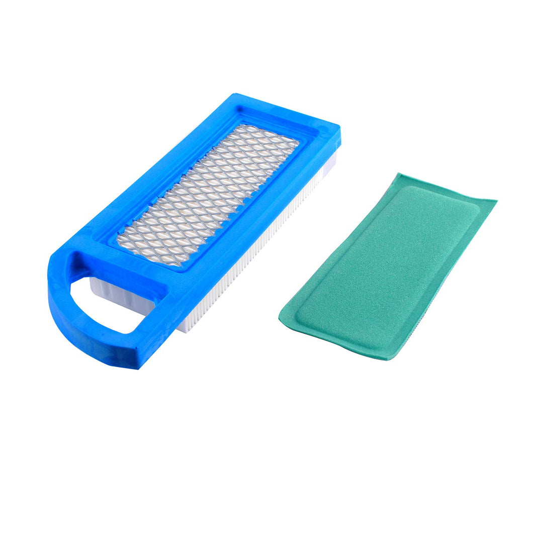 Podoy 697014 Air Filter Compatible with Briggs-Stratton Oregon Craftsman John-Deere Lowes Accessory Replace 697153 697634 698083 795115 797008 Stens 102-875 Oregon 30-122
