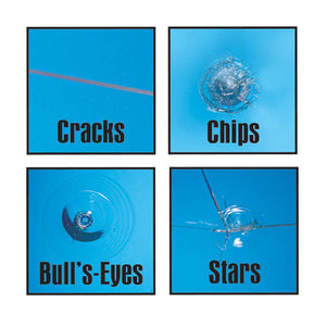 RainX Fix a Windshield Do it Yourself Windshield Repair Kit, for Chips, Cracks, Bulll's-Eyes and Stars 1