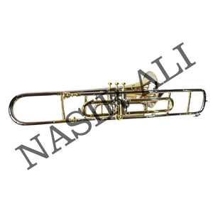 Nasir Ali, Valve Trombone Nickel Brass Plated Bb