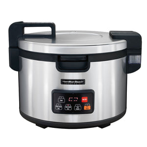 Hamilton Beach 37590 Commercial 90 Cup Rice Cooker/Warmer Ez Store USA