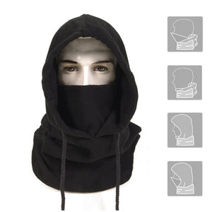 Anomasu Men's Balaclava Medium Black