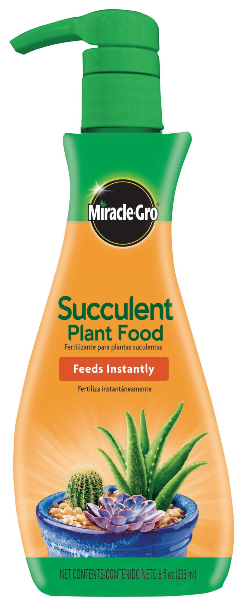 Miracle-Gro Succulent Plant Food, 8 Oz., For Succulents including Cacti, Jade, And Aloe, 1 Pack