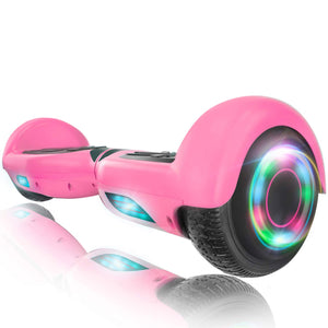 XPRIT Hoverboard w/Bluetooth Speaker Pink