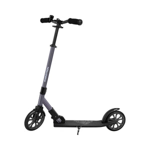 Swagtron Commuter Kick Scooter for Adults, Teens | Foldable, Lightweight w/ABEC-9 Wheel Bearings | Height-Adjustable, 220LB Max Load K8 - 200mm Wheels