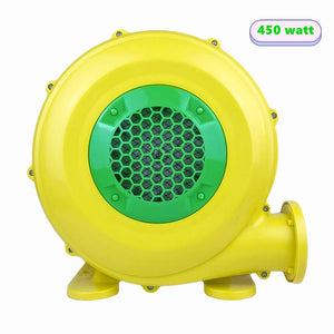 Inflatable Blower 450 Watt Bounce House Blower, Air Blower for Inflatable Castle and Jump Slides, Portable and Powerful Inflatable Blower Fan Pump