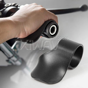 KiWAV Motorcycle Throttle Holder Cruise Assist Rocker Rest Accelerator Assistant Universal