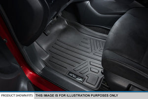 MAXLINER Floor Mats 3 Row Liner Set Black for 2018-2020 Ford Expedition/Expedition Max with 2nd Row Bench Seat Ez Store USA