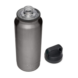 YETI Rambler 36 oz Bottle, Vacuum Insulated, Stainless Steel with Chug Cap Graphite