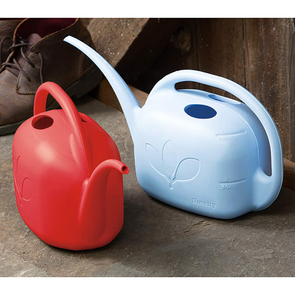 Indoor Watering Can, 1 Gallon, Red
