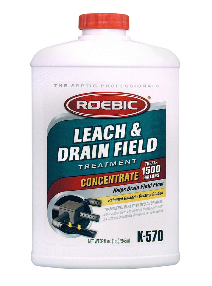 Roebic K-570 32 Fl. Ounce Biodegradable Leach and Drain Field Opener Concentrate