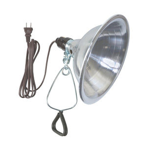 Woods Clamp Lamp Light with Aluminum Reflector, 150W, UL Listed, 6- Foot Cord 150 Watt 8.5 Inch