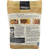 Western Premium BBQ Products Pecan BBQ Smoking Chips, 180 cu in