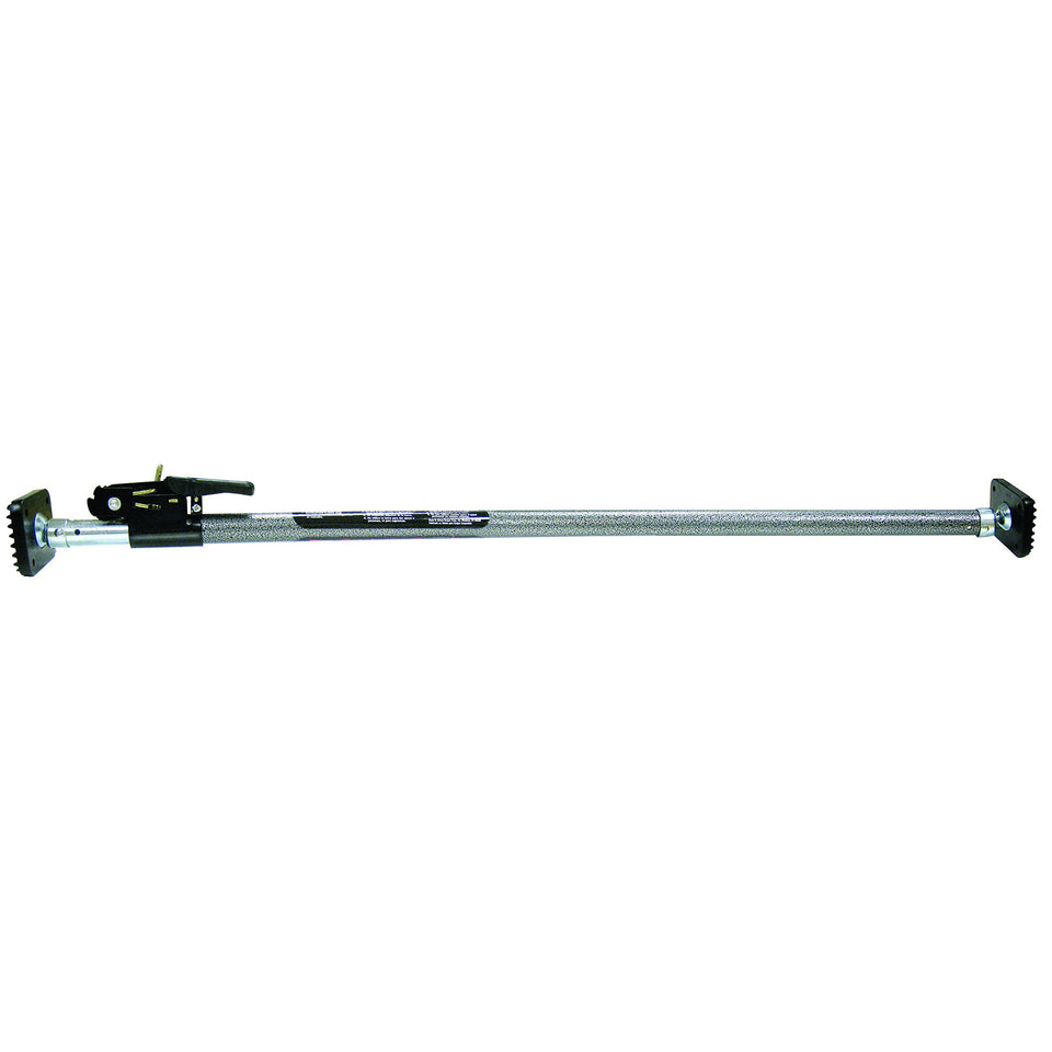 Keeper 05059 Ratcheting Cargo Bar,Black/Silver