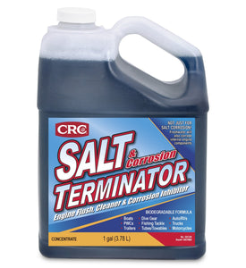 CRC SX128 Salt Terminator Engine Flush, Cleaner and Corrosion Inhibitor - 1 Gallon 128 oz