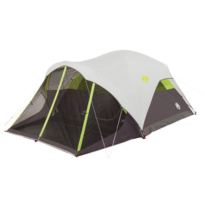Coleman Steel Creek Fast Pitch Dome Tent with Screen Room, 6-Person