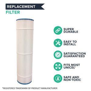 Think Crucial Replacement Unicel Pool Filter Compatible with Filbur FC-1977 Fits Part # 178584, Pleatco: PCC105, Pentair: R173576, Waterway: 817-0106: C-7471 (4 Pack) 4