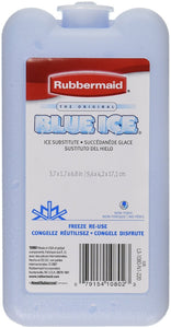 Rubbermaid 1080-16-220 Blue Ice Block Module Ice Pack (pack of 3) 3 Pack