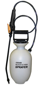 Smith 190285 1-Gallon Bleach and Chemical Sprayer for Lawns and Gardens or Cleaning Decks, Siding, and Concrete 1-(Pack)