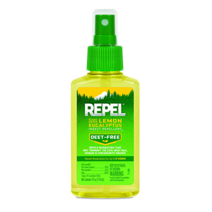 REPEL Plant-Based Lemon Eucalyptus Insect Repellent, Pump Spray, 4-Ounce, 6-Pack Pack of 6