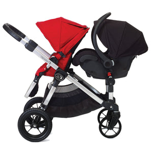 Baby Jogger City Select Second Seat Adaptors Stroller Grey