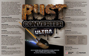 FDC Rust Converter Ultra, Highly Effective Professional Grade Rust Repair (1 Gallon)
