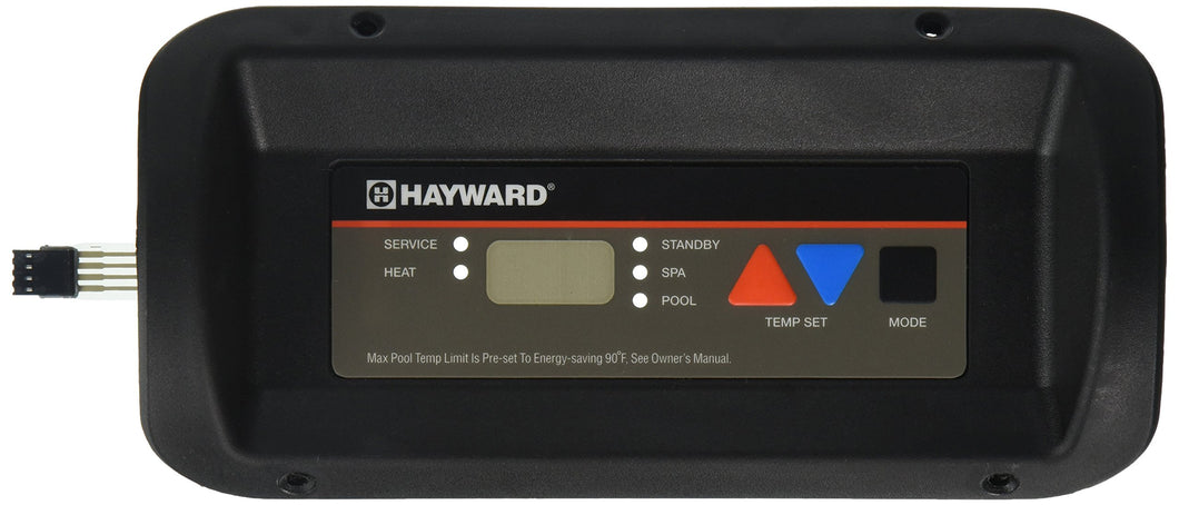 Hayward FDXLBKP1930 Bezel and Keypad Assembly Replacement Kit for Hayward Universal H-Series Low Nox Pool Heater Pack of 1