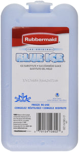 Rubbermaid 1080-16-220 Blue Ice Block Module Ice Pack 2 pack