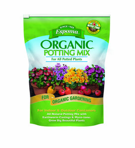 Espoma AP8 8-Quart Organic Potting Mix 1 Pack
