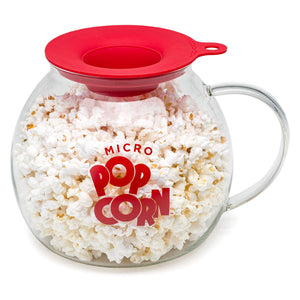 Epoca Inc. EKPCM-0025 Ecolution Micro-Pop Popper, Glass Microwave Popcorn Maker with Dual Function Lid, 3 Qt 3 Qt.