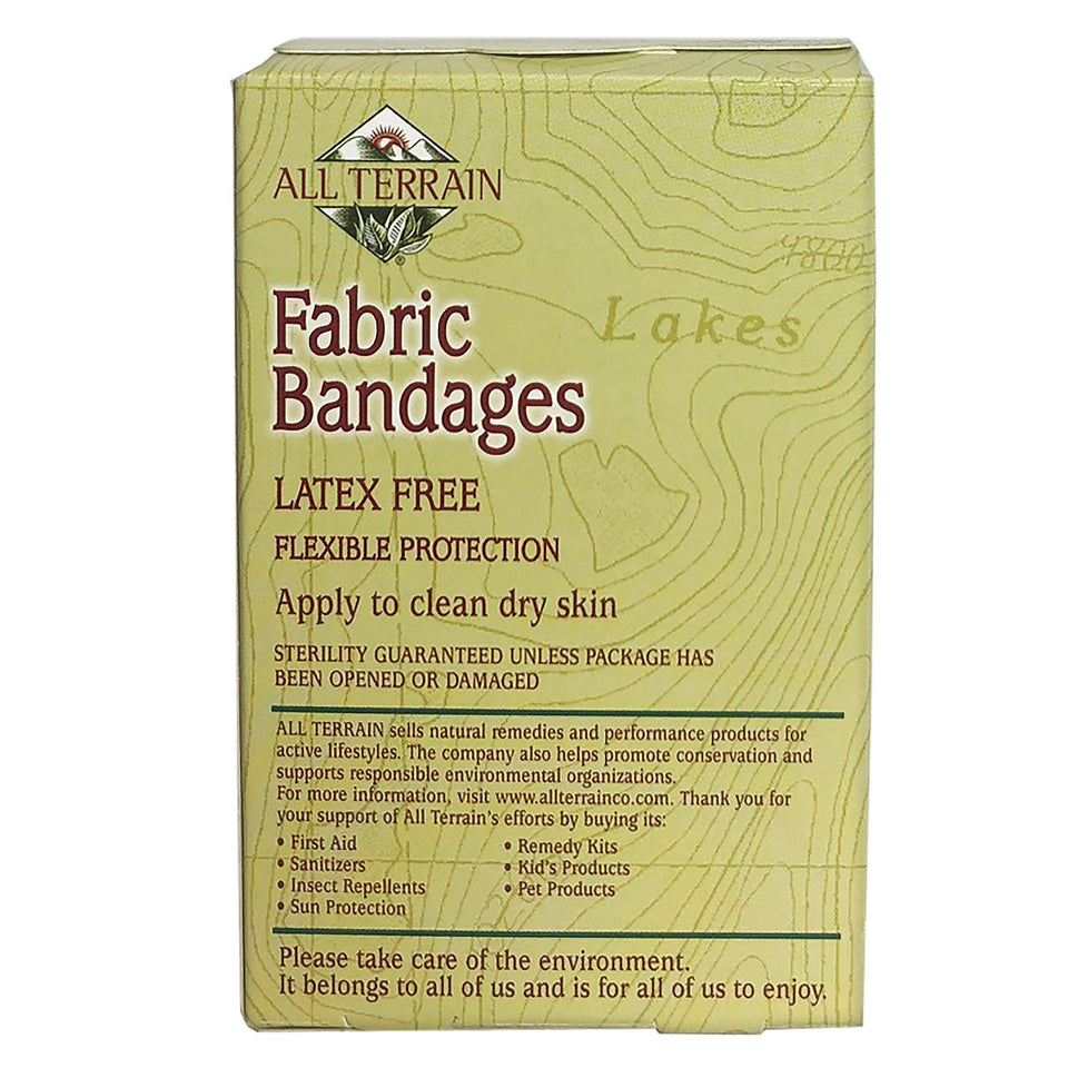 All Terrain Bandages, Latex-Free Fabric
