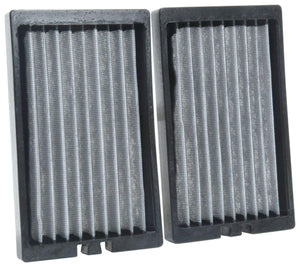 K&N Premium Cabin Air Filter: High Performance, Washable, Lasts for the Life of your Vehicle: Designed for Select 2018-2019 JEEP Wrangler JL and 2020 JEEP Gladiator, VF2064 Ez Store USA