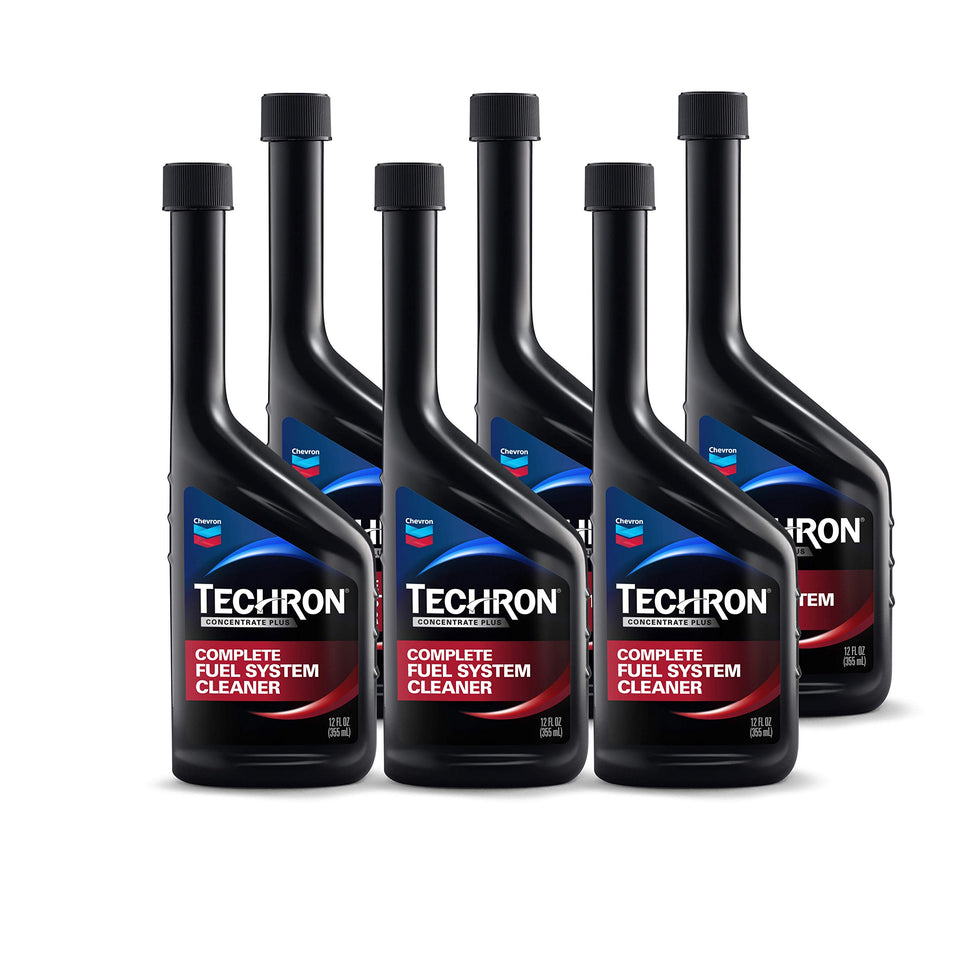 Chevron 67740-CASE Techron Concentrate Plus Fuel System Cleaner - 12 oz., (Pack of 6) Pack - 6 12 fl. Oz.