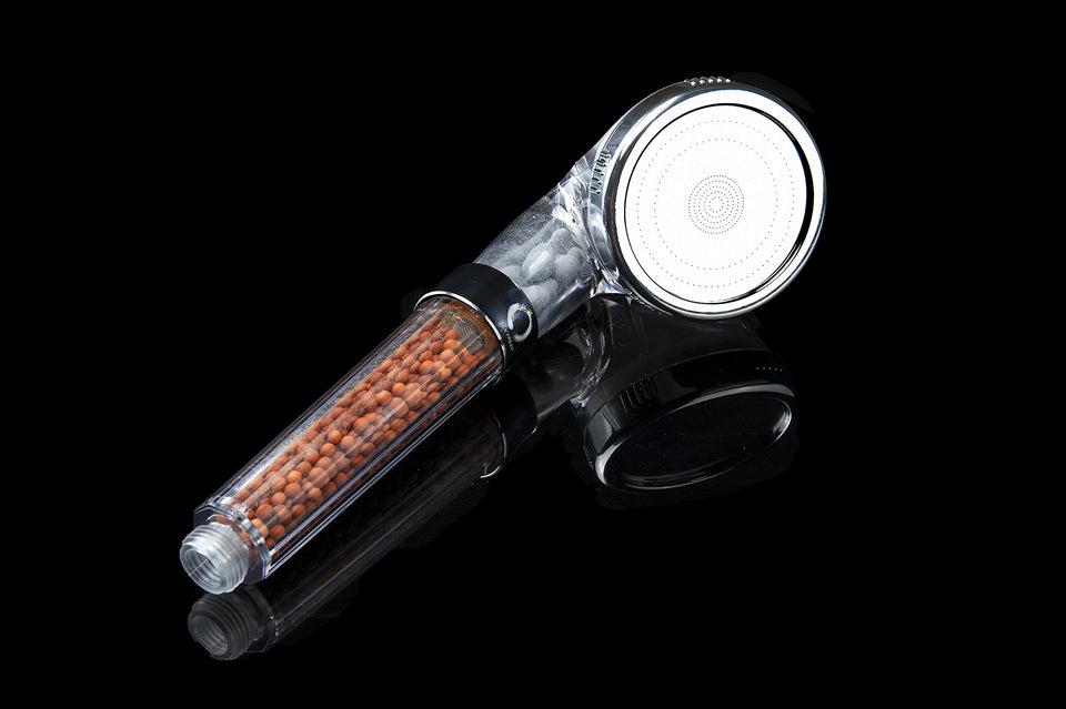 Detachable High Pressure Handheld Shower Head - With Water Saving Ionic Filtration Showerhead for Dry Skin and Hair