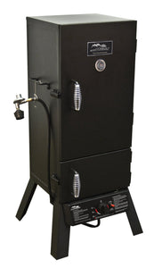 "Masterbuilt 20051311 GS30D 2-Door Propane Smoker, 30"" (Old Version), Black"