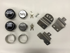 Slick Locks Dodge Ram Promaster Kit Complete with Spinners, Weather covers and Locks Ez Store USA