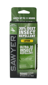 Sawyer Products Ultra 30% DEET Insect Repellent Lotion 4-ounce