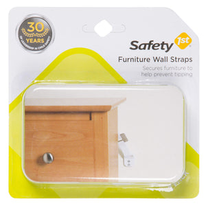 Safety 1st Furniture Wall Straps 2 Count