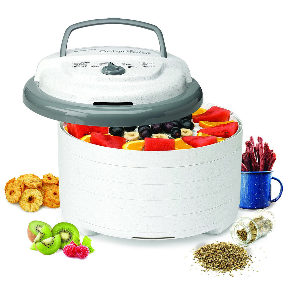 NESCO FD-75A, Snackmaster Pro Food Dehydrator, Gray Standard Packaging
