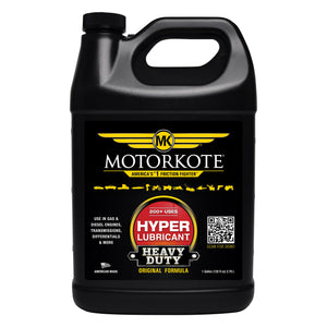 Motorkote MK-ET01G-04-4PK Heavy Duty Hyper Lubricant, 1-Gallon, 4-Pack 1 Galllon, (Pack of 4)