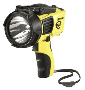 Streamlight 44910 Waypoint 1000-Lumens Spotlight with 120-Volt AC Charger, Yellow 120V AC Charger