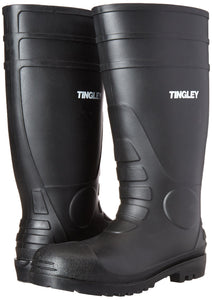 Tingley 31151 Economy SZ11 Kneed Boot for Agriculture, 15-Inch, Black 11
