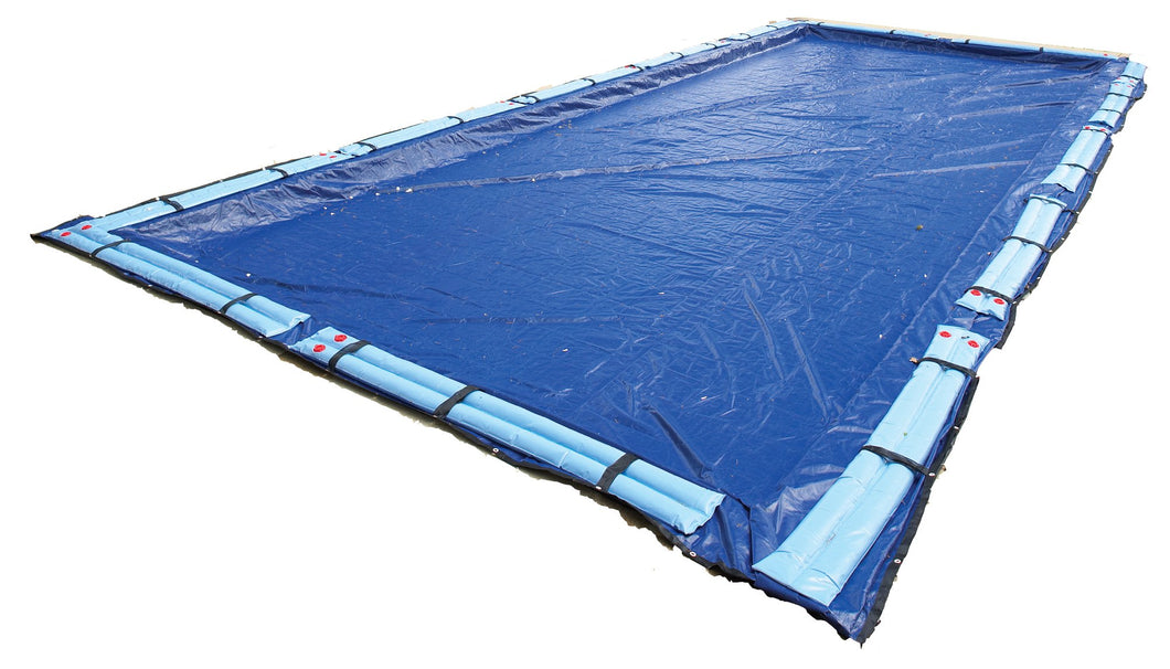 Blue Wave Gold 15-Year 25-ft x 45-ft Rectangular In Ground Pool Winter Cover 25 by 45-Feet