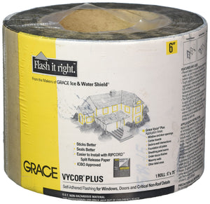"GRACE TV718306 6""x75'Vycor Flashing Original version"