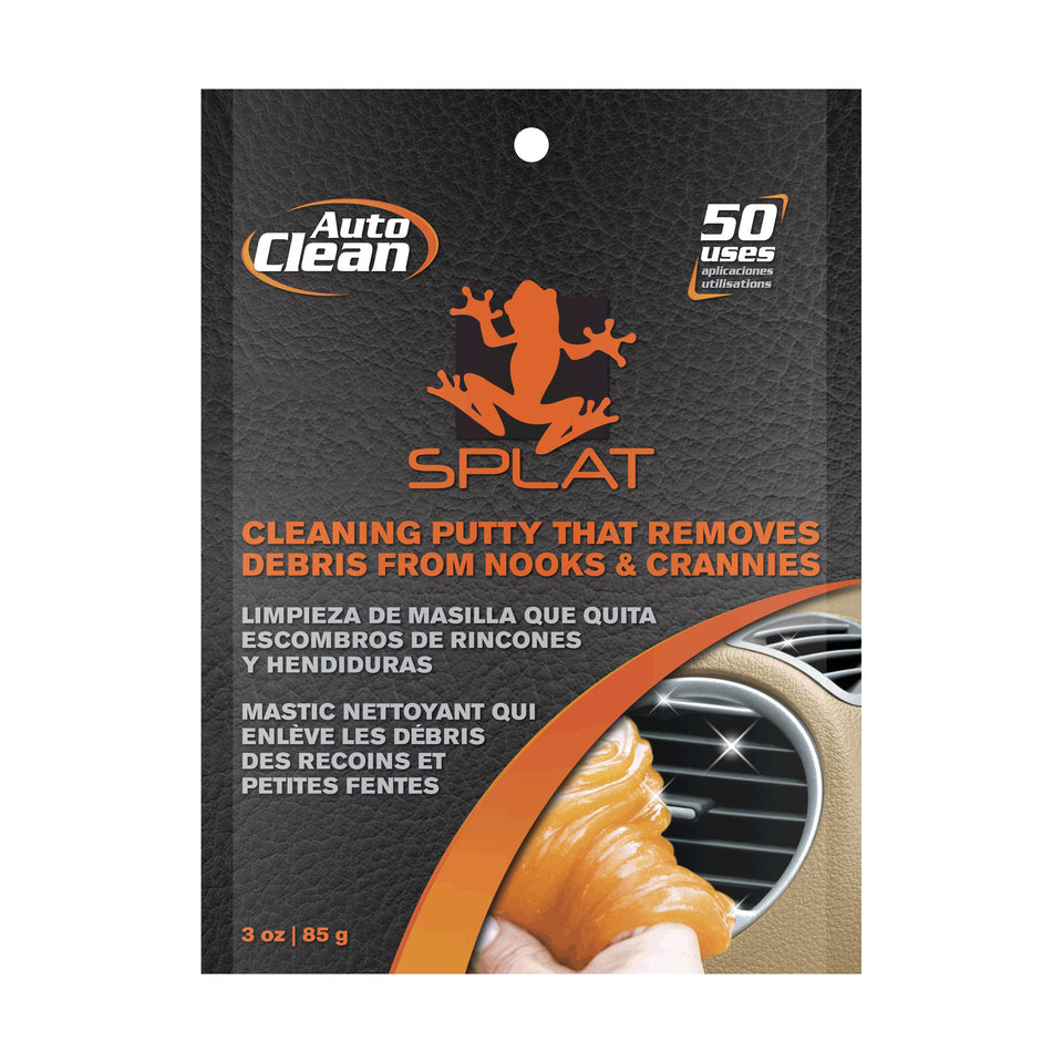 Vdera SPLAT-AC-3P Splat Orange Auto-Clean Cleaning Putty - 3 oz.